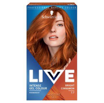 Schwarzkopf – Live Intense Gel Colour koloryzacja do włosów w żelu 7.7 Bright Cinnamon (1 szt.)