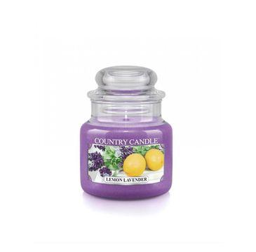 Country Candle – świeca zapachowa Lemon Lavender (104 g)
