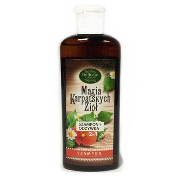 Delicate Organic Magia Karpackich Ziół szampon dodający włosom objętości 250g