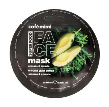 Cafe Mimi – Maseczka do twarzy Awokado i Rukola (10 ml)