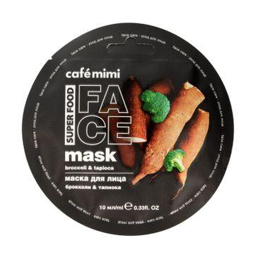 Cafe Mimi – Maseczka do twarzy Brokuły i Tapioka (10 ml)