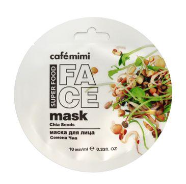 Cafe Mimi – Maseczka do twarzy Chia i Oliwa (10 ml)