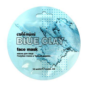 Cafe Mimi – Maseczka do twarzy Niebieska glinka i drzewo herbaciane (10 ml)