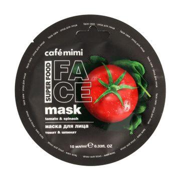 Cafe Mimi – Maseczka do twarzy Pomidor&Szpinak
