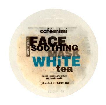 Cafe Mimi – Maseczka do twarzy z Białą Herbatą i Lotosem (10 ml)