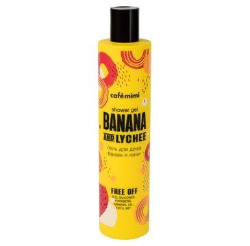 Cafe Mimi – Żel pod prysznic Banan i Liczi (300 ml)