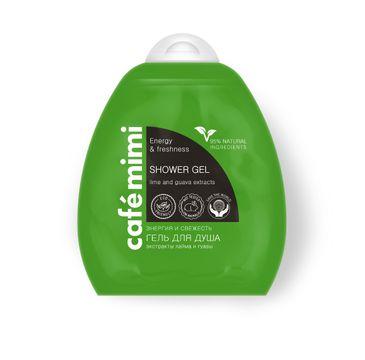 Cafe Mimi żel pod prysznic energia i świeżość 250 ml