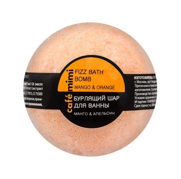 Cafe Mimi – Musująca kula do kąpieli Mango i Pomarańcza (120 g)