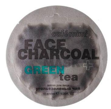 Cafe Mimi – Maseczka do twarzy Bambusowy węgiel Drzewny i Zielona Herbata (10 ml)
