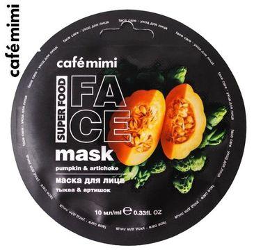 Cafe Mimi – Maseczka do twarzy Dynia i Karczoch (10 ml)