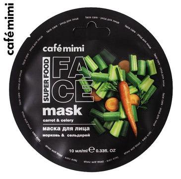 Cafe Mimi – Maseczka do twarzy Marchew i seler (10 ml)