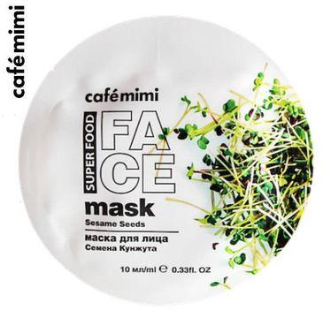 Cafe Mimi – Maseczka do twarzy Sezam i masło shea (10 ml)