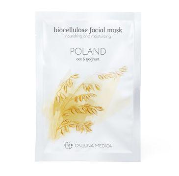 Calluna Medica maseczka (Poland Nourishing And Moisturizing Biocellulose Facial Mask odżywczo-nawilżająca maseczka w płachcie z biocelulozy 12 ml)