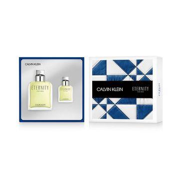 Calvin Klein Eternity For Men zestaw woda toaletowa spray 200ml + woda toaletowa spray 30ml (1 szt.)