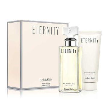 Calvin Klein Eternity Women zestaw woda perfumowana spray 100ml + balsam do ciała 100ml (1 szt.)