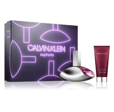 Calvin Klein – Euphoria Woman zestaw woda perfumowana spray 50ml + balsam do ciała 100ml (1 szt.)