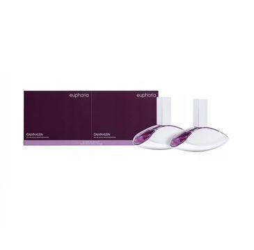 Calvin Klein – Euphoria Woman zestaw woda perfumowana spray 50ml + woda perfumowana spray 50ml (1 szt.)