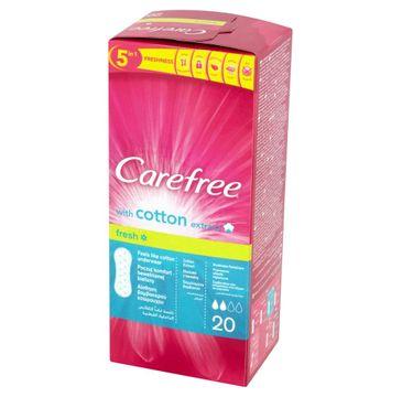 Carefree Cotton Fresh wkładki higieniczne 1 op.- 20 szt.