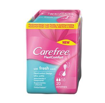 Carefree Flexi Comfort Fresh Scent wkładki higieniczne 1 op.-20 szt.