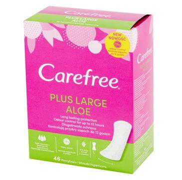 Carefree Plus Large Aloe Wkładki higieniczne 1 op. - 46 szt.