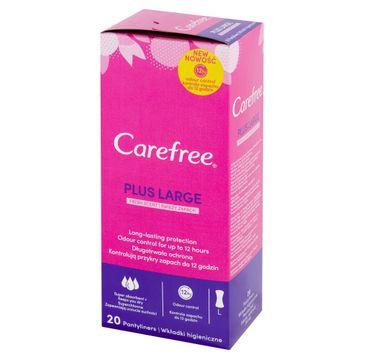 Carefree Plus Large Wkładki higieniczne Fresh Scent 1 op. - 20 szt.