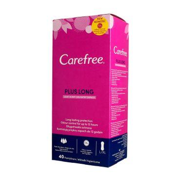 Carefree Plus Long Light Scent Wkładki higieniczne  1op.-40szt