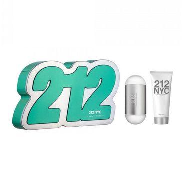 Carolina Herrera – 212 NYC zestaw woda toaletowa spray 60ml + balsam do ciała 75ml (1 szt.)