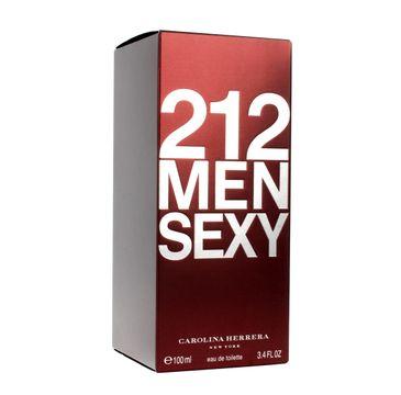 Carolina Herrera 212 Sexy Men woda toaletowa 100 ml