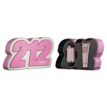 Carolina Herrera – 212 Sexy zestaw woda perfumowana spray 100ml + balsam do ciała 100ml (1 szt.)