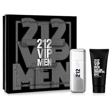 Carolina Herrera 212 VIP Men zestaw woda toaletowa spray 100ml + żel pod prysznic 100ml (1 szt.)