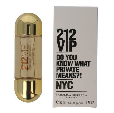 Carolina Herrera 212 VIP woda perfumowana spray 30 ml
