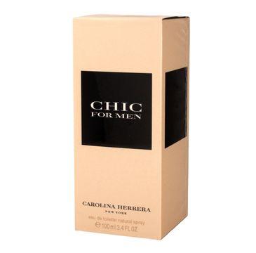 Carolina Herrera Chic for Men woda toaletowa męska 100 ml