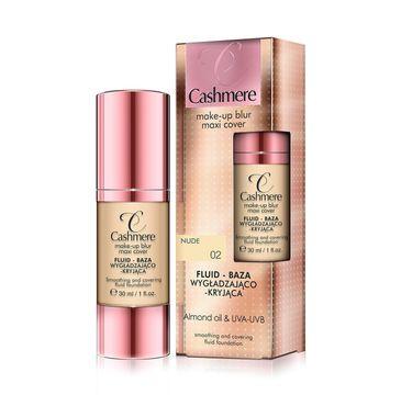Cashmere Fluid - baza wygładzająco-kryjąca do twarzy nr 02 Nude 30 ml