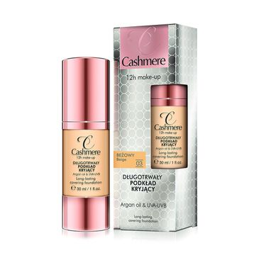 Cashmere make-up 12 h 03 beżowy podkład do twarzy 30 ml