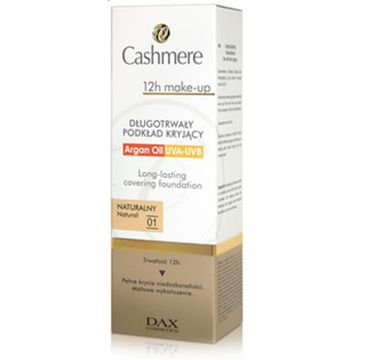 Cashmere make-up 12h 01 naturalny podkład do twarzy 30 ml
