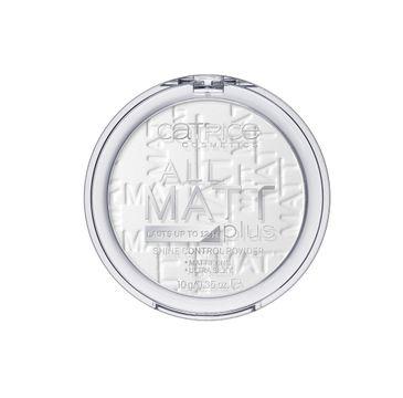 Catrice All Matt Plus Powder puder matujący 001 Universal 10g