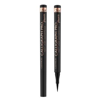 Catrice Calligraph Pro Precise 24h Matt Liner Waterproof liner do powiek 010 Intense Black 1.2ml