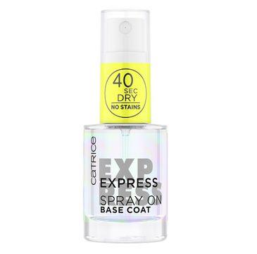 Catrice Express Spray On Base Coat ekspresowa baza w sprayu pod lakier do paznokci (10 ml)