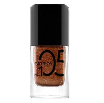 Catrice Iconails Gel żelowy lakier do paznokci 105 Rusty Rust (10.5 ml)