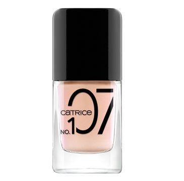 Catrice ICOnails Gel żelowy lakier do paznokci 107 Peach Me (10.5 ml)
