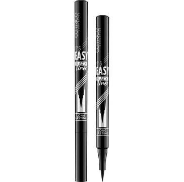 Catrice It's Easy Black Liner długotrwały eyeliner w pisaku 010 Blackest Black (1 ml)