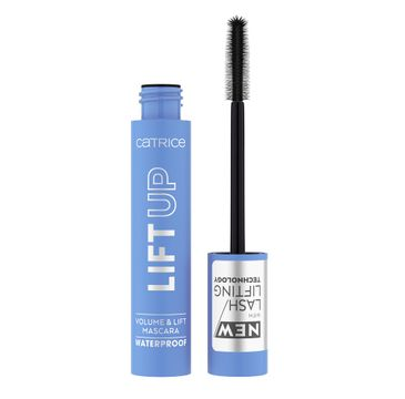 Catrice Lift Up Volume & Lift Mascara wodoodporny pogrubiający i unoszący tusz do rzęs 010 Deep Black (11 ml)