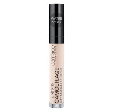 Catrice Liquid Camouflage High Coverage Concealer wodoodporny korektor w płynie 007 Natural Rose 5ml
