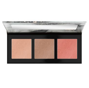 Catrice Luminice Highlight & Blush Glow paleta rozświetlaczy do twarzy 010 Rose Vibes Only 12.6g