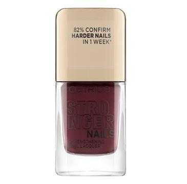 Catrice Stronger Nails Strengthening Nail Lacquer wzmacniający lakier do paznokci 01 Powerful Red (10.5 ml)