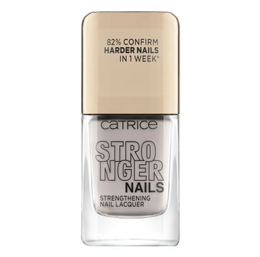 Catrice Stronger Nails Strengthening Nail Lacquer wzmacniający lakier do paznokci 04 Milky Rebel (10.5 ml)