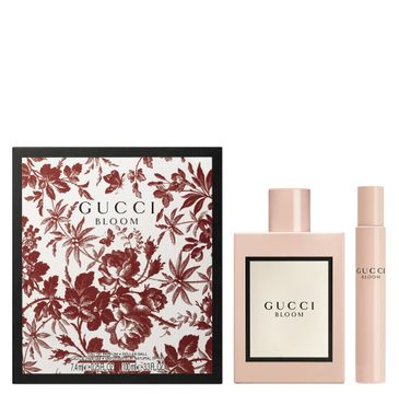 Gucci – Bloom zestaw woda perfumowana spray 100ml + miniatura wody perfumowanej roll-on 7.4ml (1 szt.)