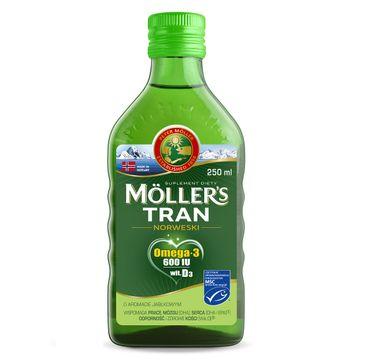 Möller's – Tran Norweski suplement diety Jabłkowy (250 ml)