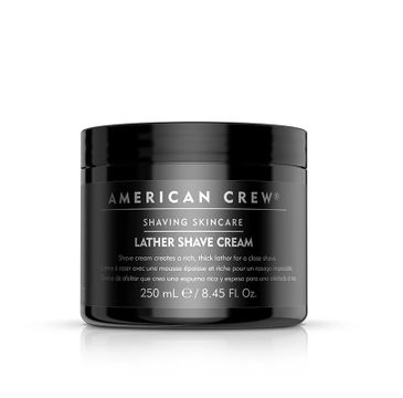 American Crew – Shaving Skincare Lather Shave Cream krem do golenia na mokro (250 ml)