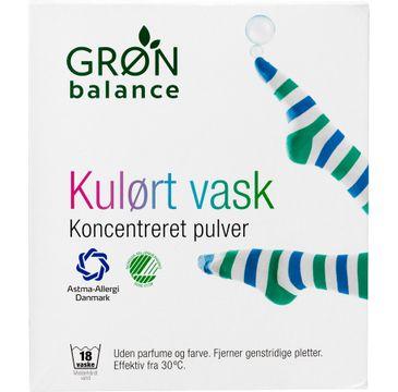 Gron Balance – Proszek do prania tkanin kolorowych Koncentreret Pulver (785 g)